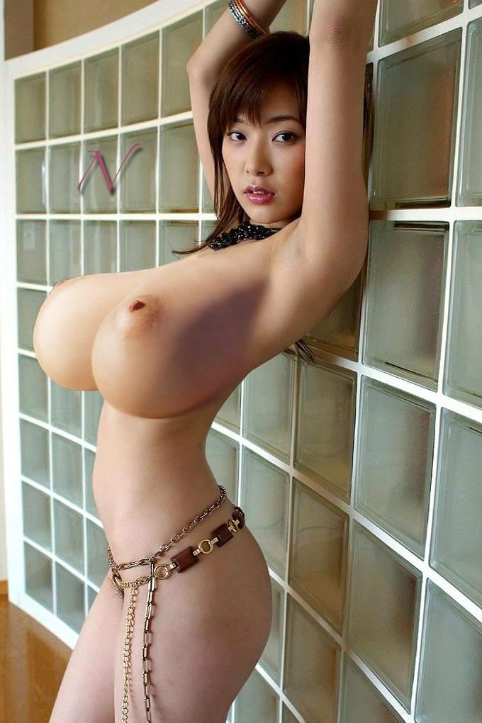 Tiny Asian with Huge Tits