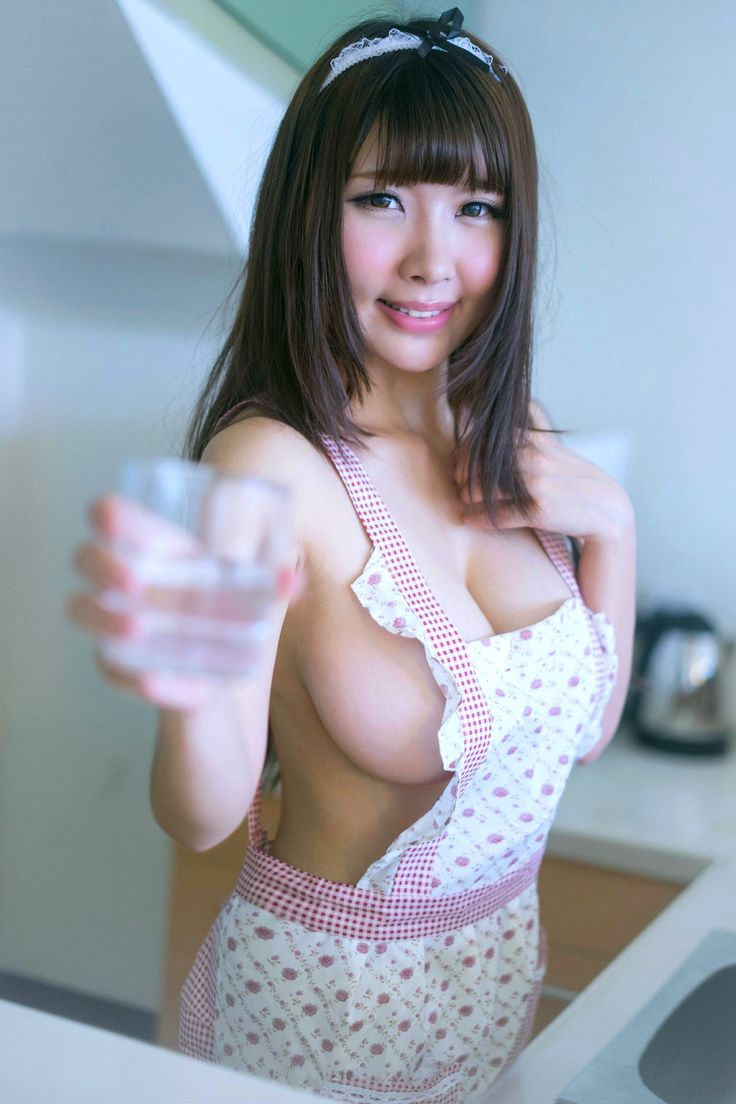 Asian girl with big tits and braless