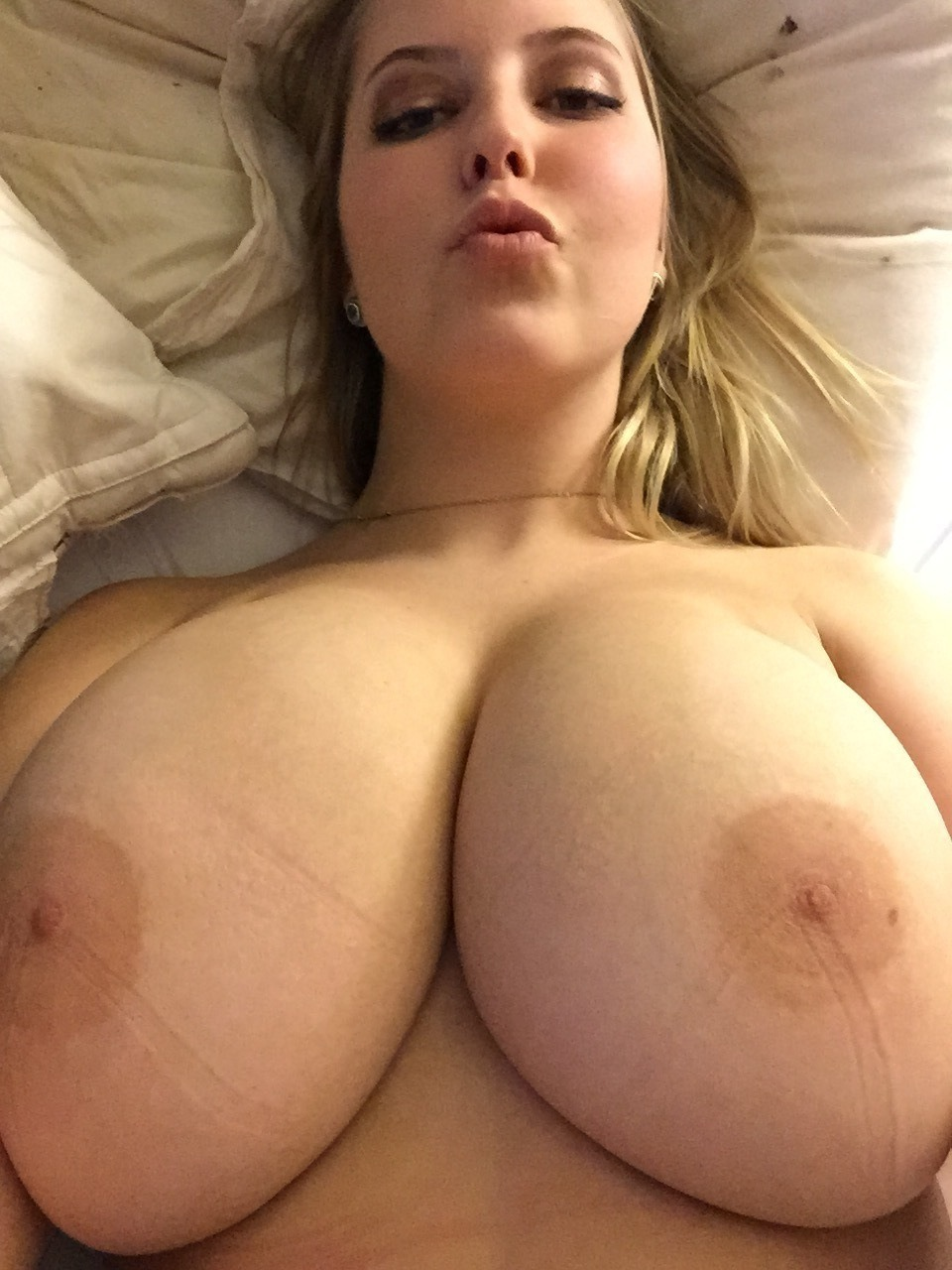 There Large natural breasts amateur
