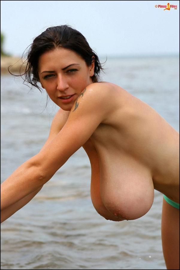 висячие груди фото